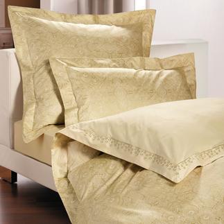 blattgold bettw sche 3tlg qualit t bestellen. Black Bedroom Furniture Sets. Home Design Ideas
